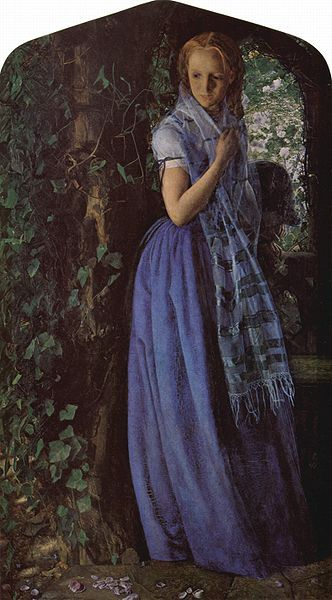 painting by the famous English artist Arthur Hughes