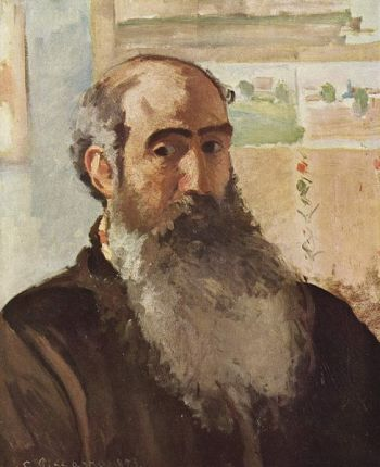 self-portrait of camille pissarro