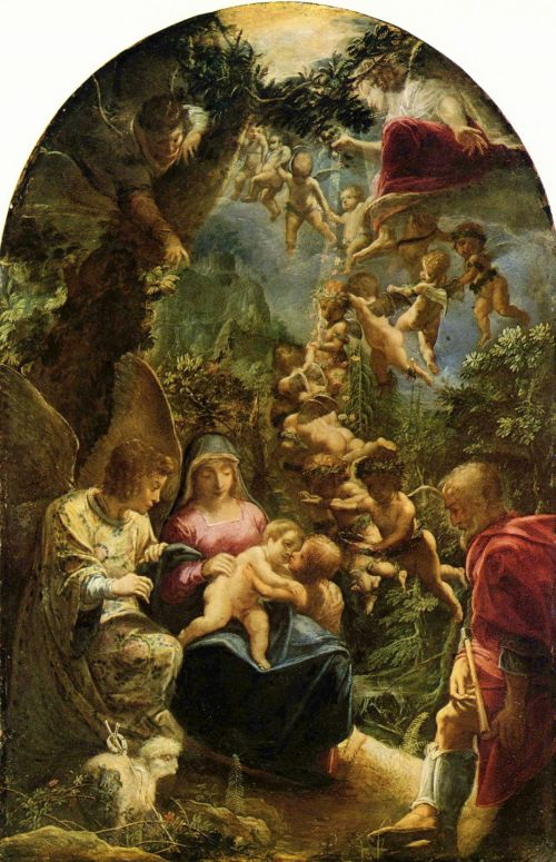 Biblical painting by Adam Elsheimer