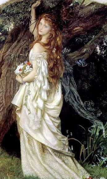 painting by the famous artist Arthur Hughes