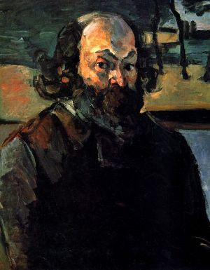 self portrait by Paul Cezanne 1875