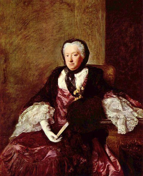 portrait of a lady by Allan Ramsay