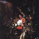 Still Life with Fishes and Bird Nest