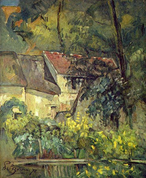 painting by the famous artist Paul Cezanne