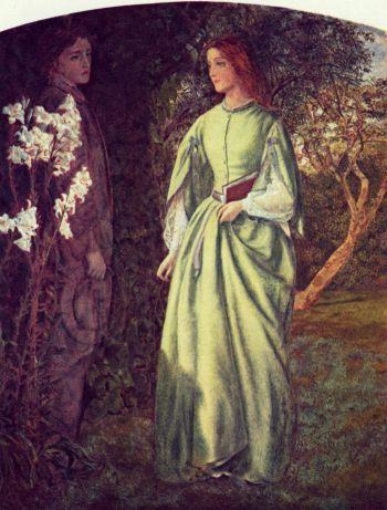painting by Arthur Hughes