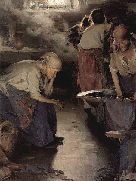 The Washer Women by Abram Efimovich Arkhipov