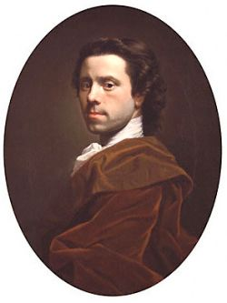 self-portrait by allan ramsay
