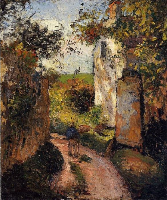 famous painting by Camille Pissarro