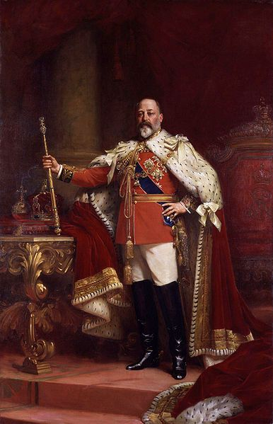 Portrait of King Edward VII