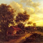 Landscape with a Cottage Near Dorking