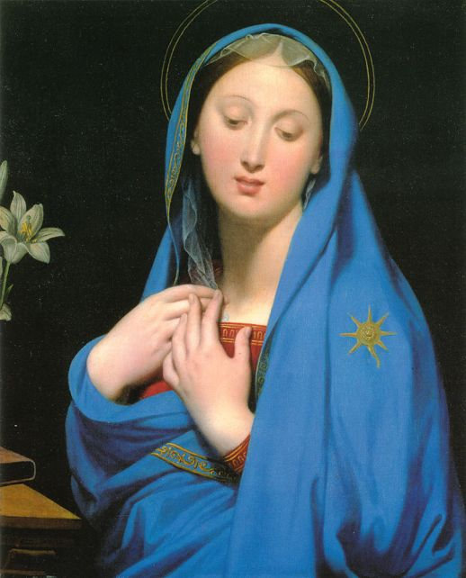 painting by the famous artist Dominique Ingres