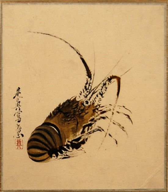 painted by the famous Japanese artist Shibata Zeshin