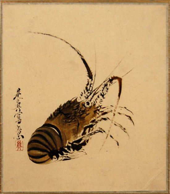 painted by the famous Japanese artist Shibata Zeshin