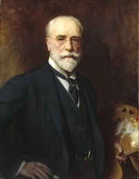 Samuel Luke Fildes portrait