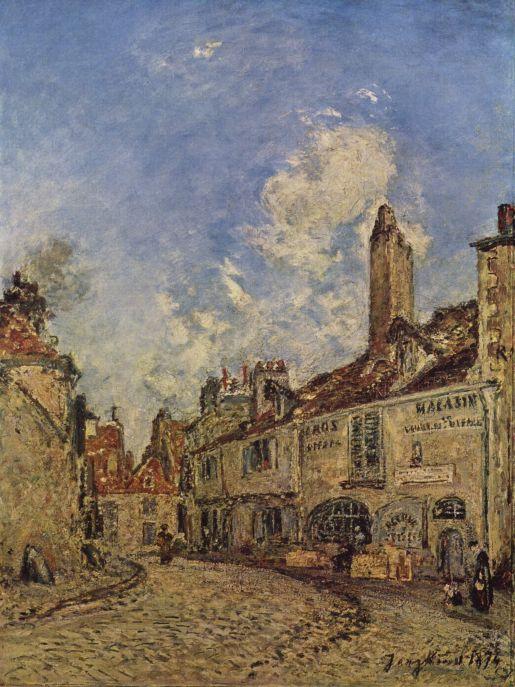 painting by the famous artist Johann Jongkind