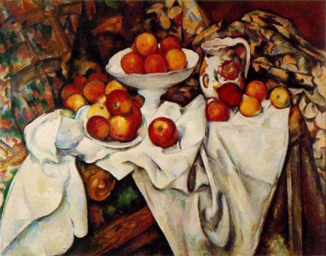 painting by Paul Cezanne