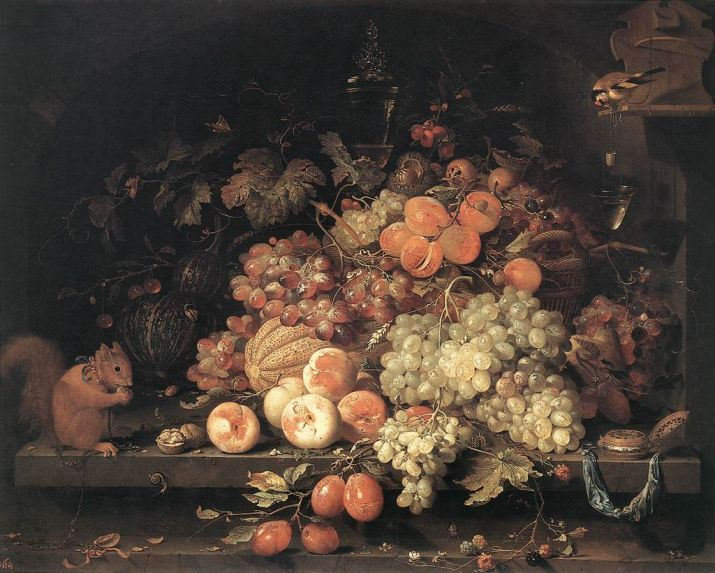 painting by Abraham Mignon
