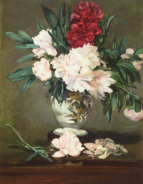 still life painting by Edouard Manet