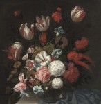 Tulips, roses, poppies and other flowers