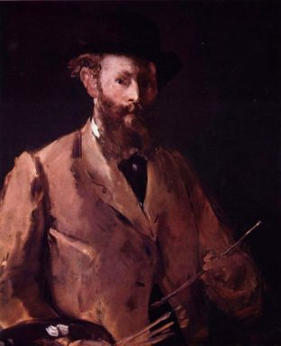 self portrait of Edouard Manet 1879