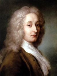 portrait of antoine watteau