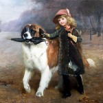 famous painting by Charles Burton Barber