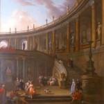 A Palatial Courtyard