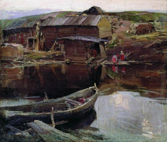 painting by the famous artist Abram Efimovich Arkhipov
