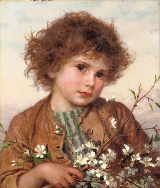 painting by the famous artist Sophie Anderson