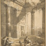 artist-among-ruins