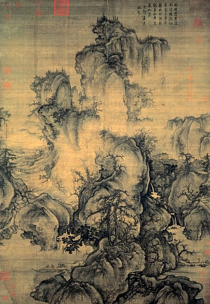 famous painting by Guo Xi