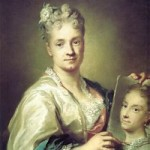 Self Portrait by Rosalba Carriera