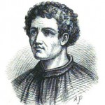 portrait drawing of Pietro Cavallini