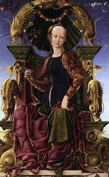 painting by Cosimo Tura