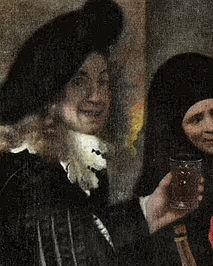 self portrait of Jan Vermeer