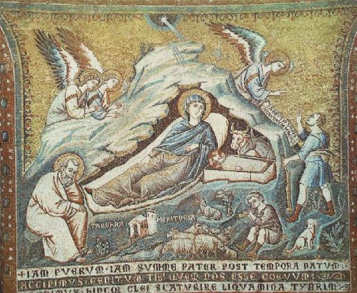 mosaic by Pietro Cavallini