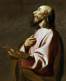 painting thought to be a self portrait of Francisco de Zurbaran
