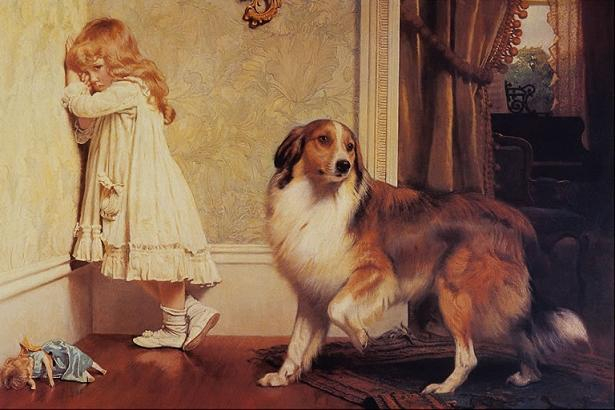 painting by Charles Burton Barber