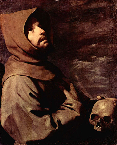 painting by Francisco de Zurbaran