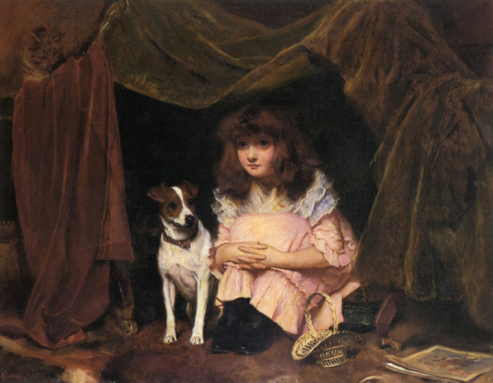 subject painting by charles burton barber