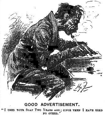 loose caricature of Barber
