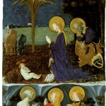 Adoration of the Child with Saint Jerome, Saint Mary Magdalene and Saint Eustache Adoration of the Child with Saint Jerome, Saint Mary Magdalene and Saint Eustache