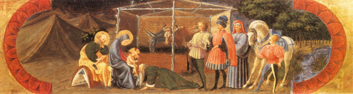 nativity painting by Paolo Uccello