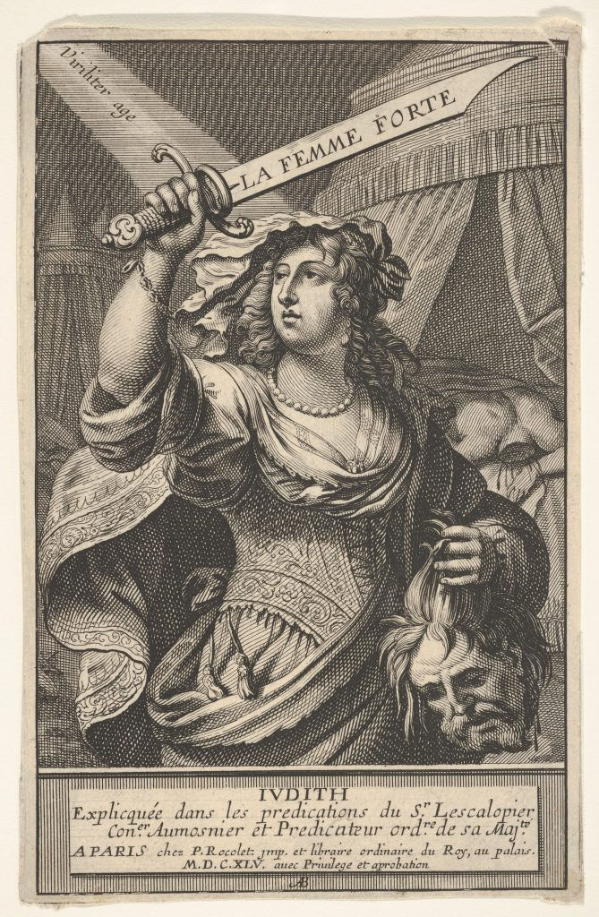 Judith and Holofernes by Abraham Bosse