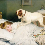 Time to Wake Up by Charles Burton Barber
